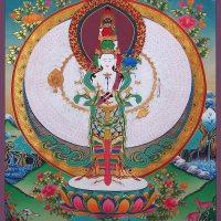 Thanka Painting of Avalokitesvara