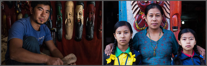 Wood-carved Masks Artists