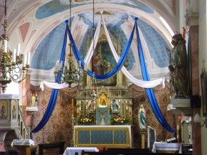 St Catherine in Hungary May Crowning 2015