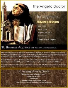 Catholic Theology Intro To Thomas Acquinas