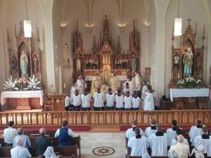 St. Mary's in Pine Bluff, diocese of Madison, Bishop Robert Morlino