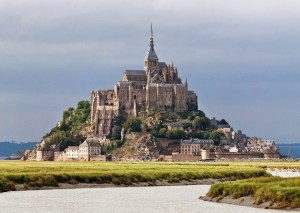 The rededication at Mont St Michel