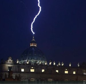 Vatican Is Struck By Lightning Before The Synod