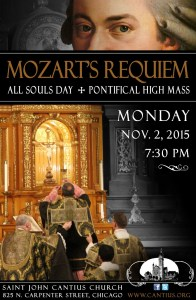 All SOuls Day Mass At Saint John Cantius Chicago mozart-requiem-poster-2015