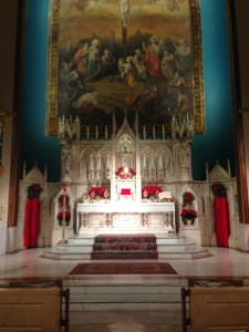 The High Altar For The Titular Feast of The Holy Innocents Is Prepared