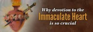 Immaculate Heart Devotion is Critical