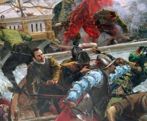 The_Battle_of_Lepanto_of_1571_Soldiers_detail_by_Juan_Luna