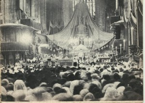 Corpus Christi Thursday Photo From Milan Italy Cathedral 1963