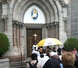 Holy Door Of Mercy At Newark Basilica Of The Sacred Heart