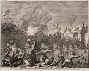 De_stadt_Maastricht,_door_den_prins_van_Parma_(Alexander_Farnese)_met_storm_verovert,_den_29_july_des_jaars_1579_(Jan_Luyken,_1679)