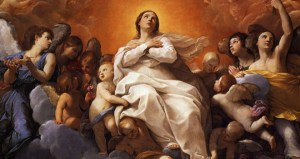 Assumption painted by Guido Reni in 1617.
