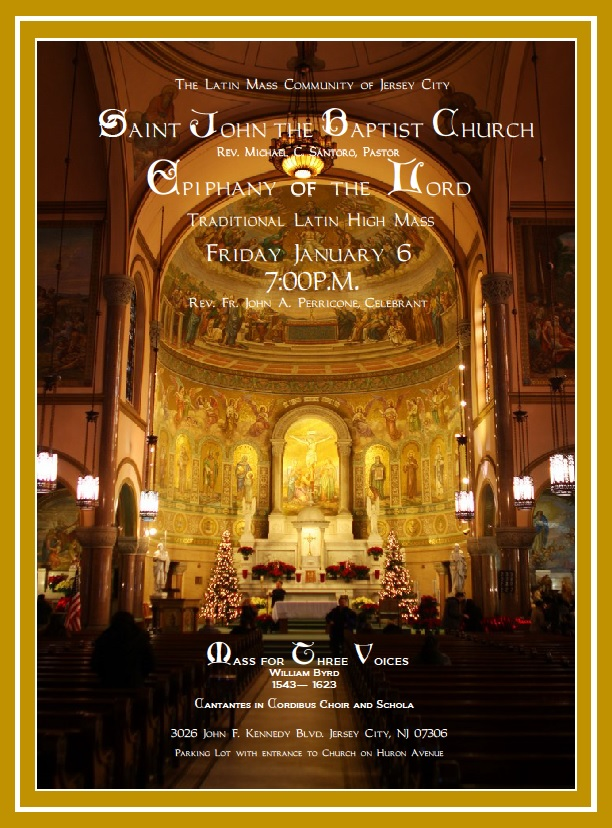Saint John The Baptist, Jersey City – Special Epiphany Mass