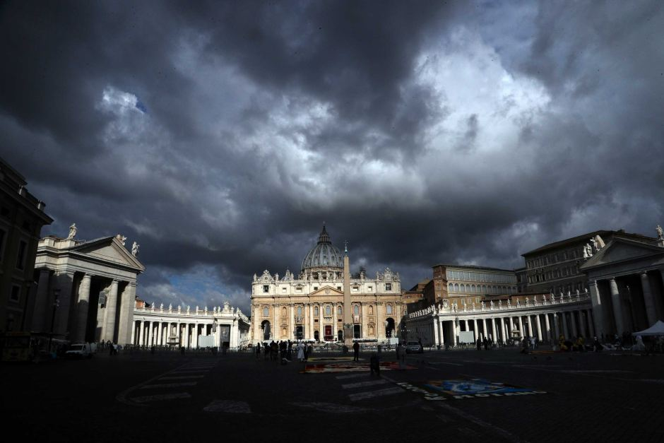 Image result for storm cloud church vatican