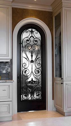 Custom Decorative Glass For Doors Traditional Doors