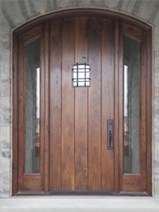 Reclaimed Wood Doors Traditional Doors