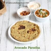 Avocado Paratha | Avocado Roti