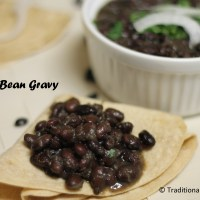 Black Bean Gravy