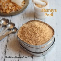 Dhaniya Podi | Kothamalli Virai Podi