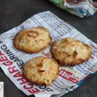 Thengai biscuit | coconut macaroon