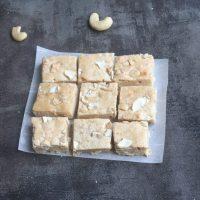 Cashew squares | Cashew bite