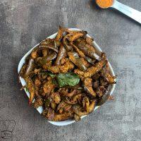 Kathirikai podi curry | brinjal podi curry