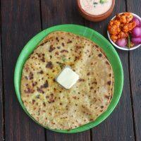 Paneer paratha recipe | paneer parantha