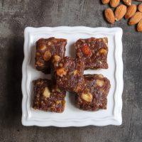 Dry fruits halwa | dry fruit nuts burfi