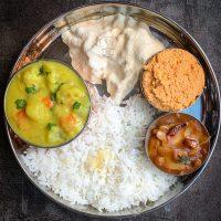 Kuzhambu thogayal Kootu - lunch combo