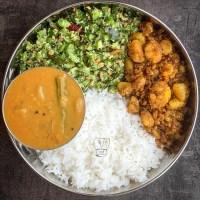 Sambar poriyal - lunch combo