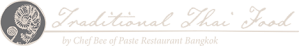 Logo - Typography - Chef Bee Satongun - Traditional Thai Food