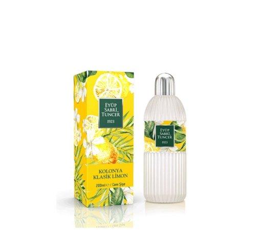 Eyup Sabri Tuncer Lemon Cologne 200 ml - Glass Bottle