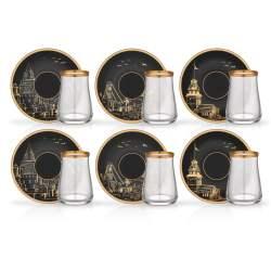 12 Pcs Istanbul Luxury Tea Glass Set
