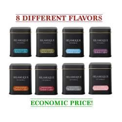 Selamlique Turkish Coffee Series, 8 Different Flavored, Turkish Coffee Flavored Set