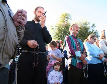 orando clínica de aborto rosario