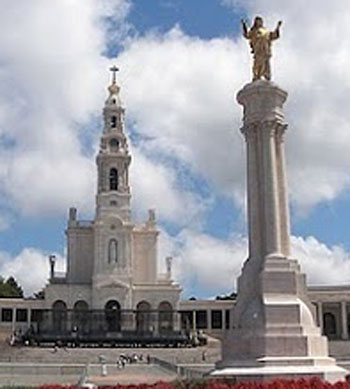 pilares del santuario de Fátima