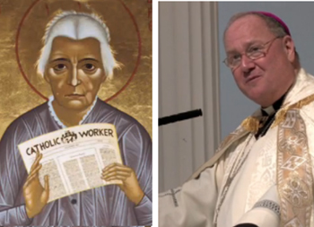 Cardenal Dolan, Dorothy Day