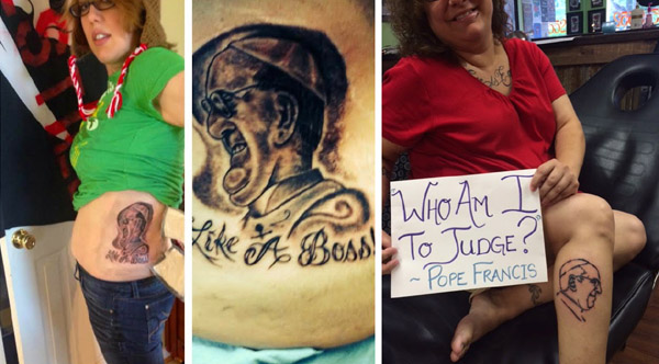 Moda Na Tatuaże Z Franciszkiem Forumdlazycia Tradycji