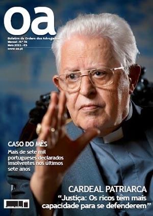 El cardenal José Policarpo en la portada de Oa