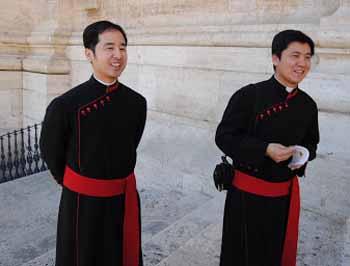 seminaristas china roma