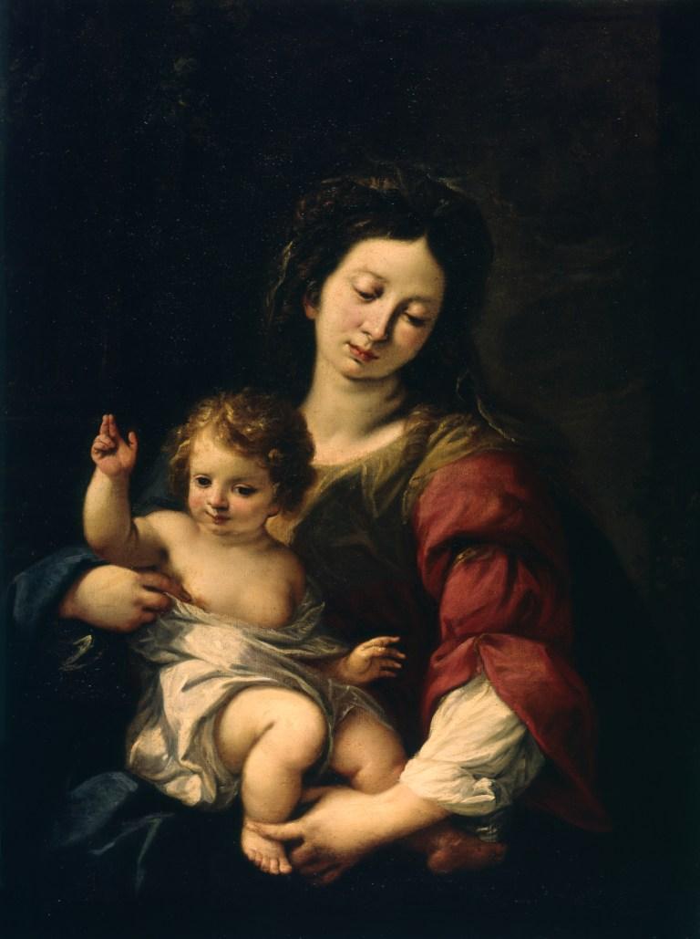 Madonna mit Kind italienisch