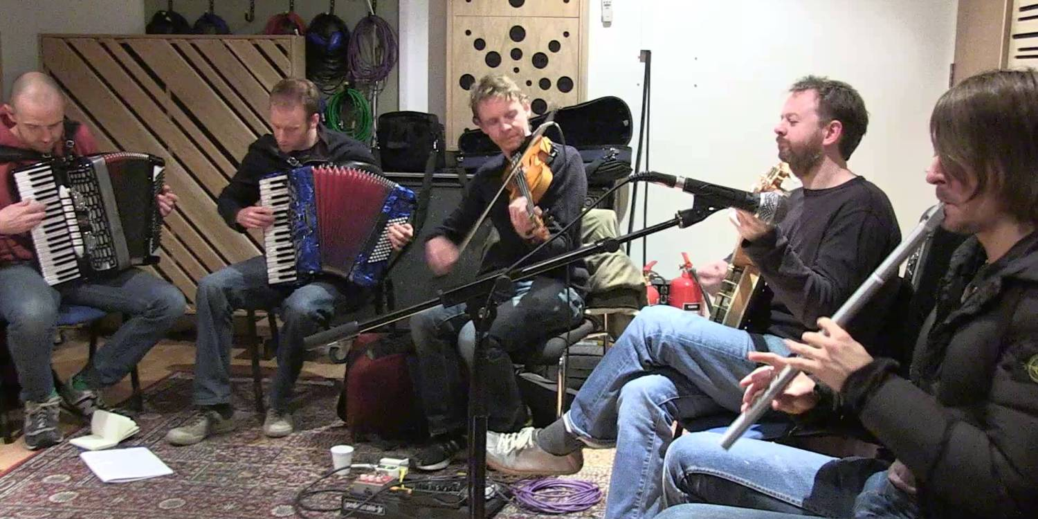 Treacherous Orchestra 2015 Winter Tour Rehearsal Behind The Scenes Video 1