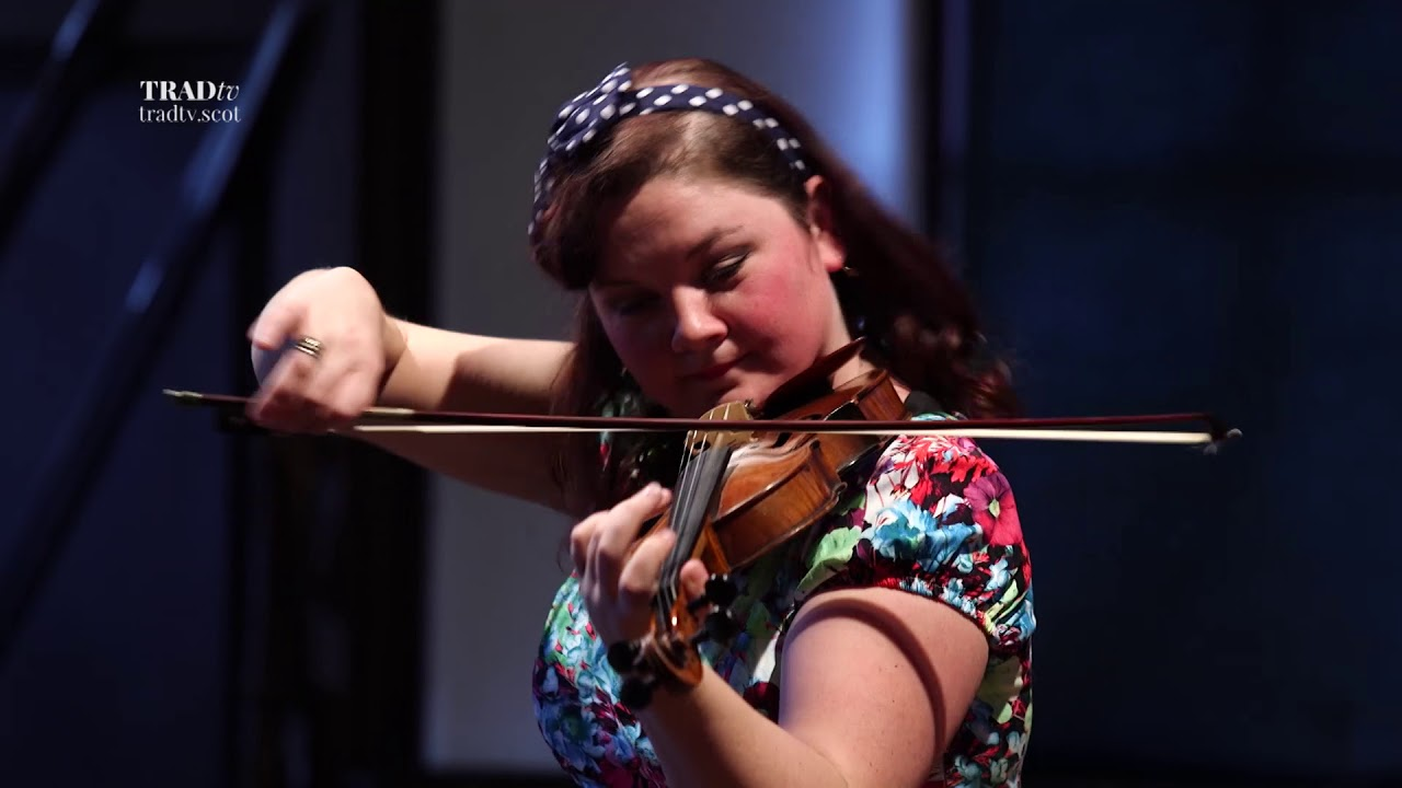 Gemma Donald performs live at the Glenfiddich Fiddle Championship Celebration at Blair Castle