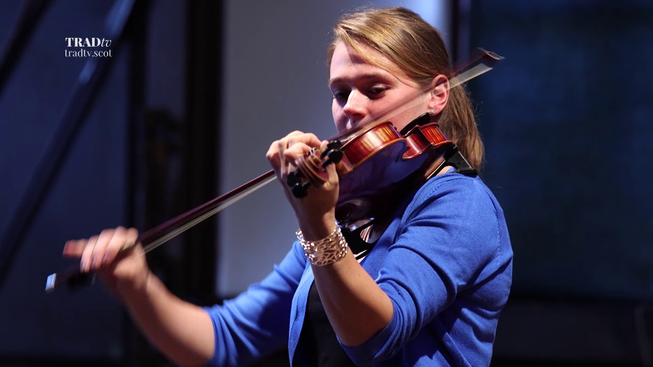 Maggie Adamson performs live at the Glenfiddich Fiddle Championship Celebration at Blair Castle