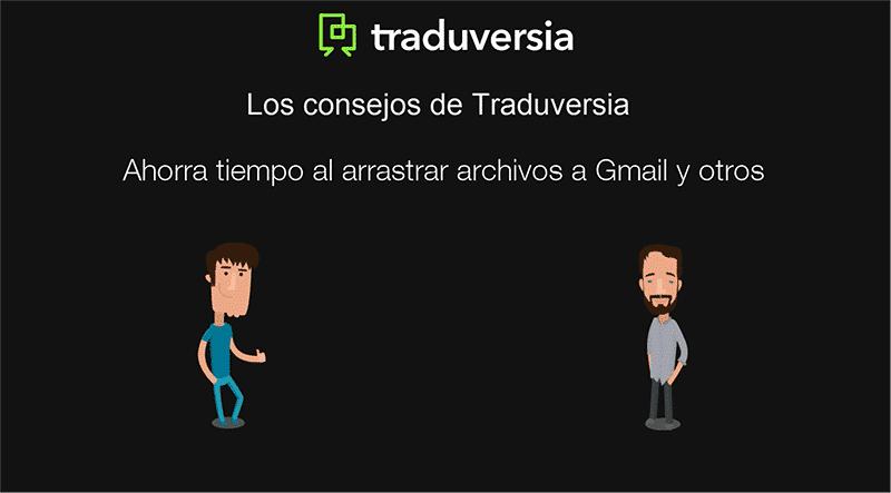 Ahorra tiempo al arrastrar archivos a Gmail y otras ventanas