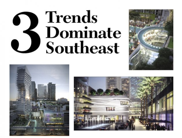 Miami is witnessing three game-changing mixed-use and transit-oriented developments coming off the drawing board and out of the dirt, one of which is the $2-billion Miami Worldcenter, with office, residential, retail and hotel components.