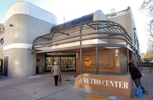 Plans are underway to completely rebuild the Metro Center on Pacific Avenue in downtown Santa Cruz. (Dan Coyro -- Santa Cruz Sentinel)