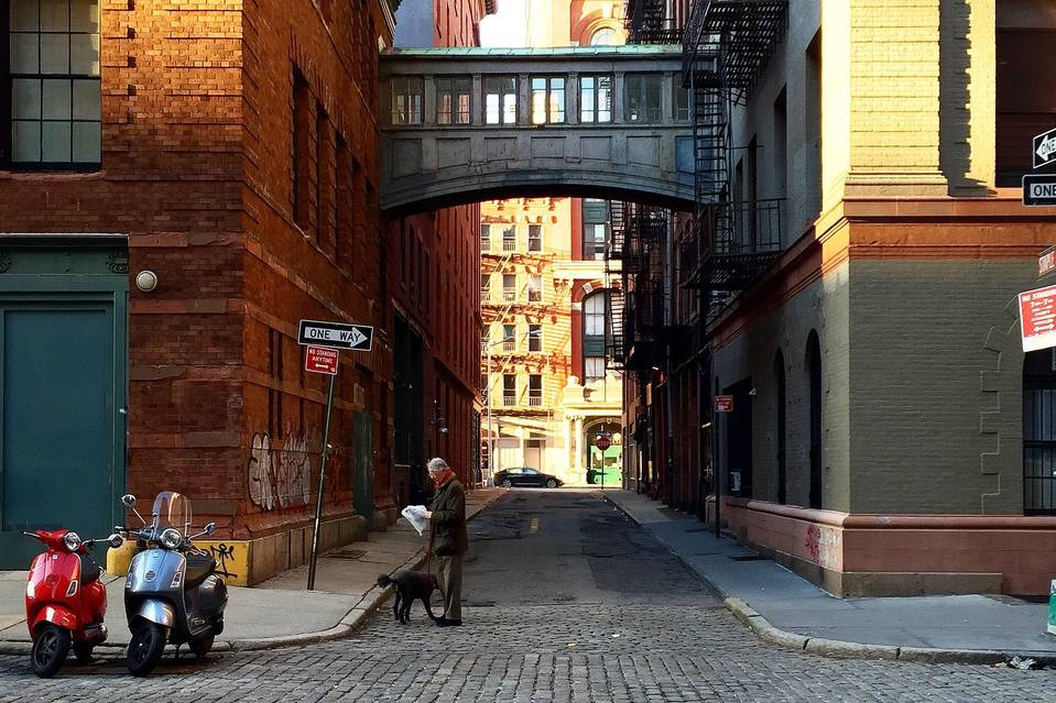 Commercial real-estate brokers are marketing images like this one, of Tribeca. PHOTO: LEONARD STEINBERG