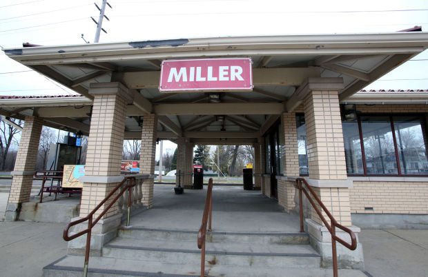The Miller South Shore commuter rail station is being targeted for improvements by railroad operator Northern Indiana Commuter Transportation District and the city of Gary. Both want the station to become the center for a vibrant neighborhood.