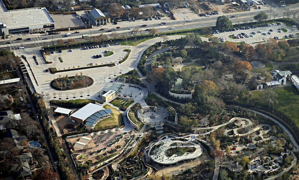 The Beck Group's Dallas Arboretum Rory Meyers Children's Adventure Garden is one of the projects competing for the Urban Land Institute award.