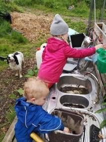 mud kitchen play